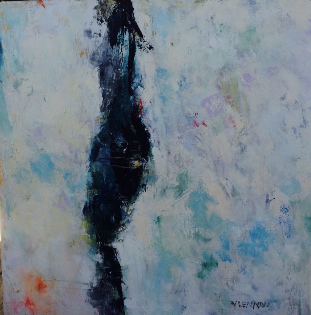 """I am Woman <br /> 40"""" x 40""""  <br /> Mixed Media on Canvas, Gallery Wrapped<br /> $2,900 <br /> <a href=""""/contact-purchase/?paintid=I am Woman"""">Purchase</a>"""