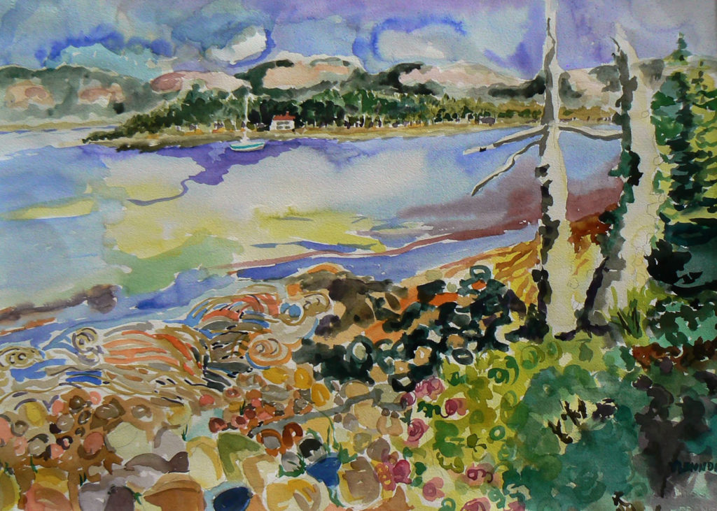 """Morning Light <br /> 30"""" x 22""""  <br /> Watercolor <br /> $495 <br /> <a href=""""/contact-purchase/?paintid=Morning Light"""">Purchase</a>"""